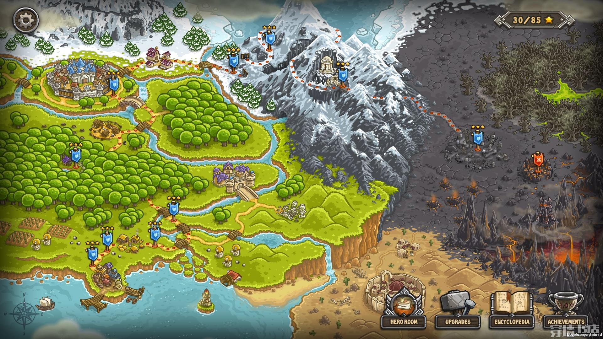 Kingdom Rush《皇家守卫军》免安装绿色版 v2.2版 非常火爆好玩的PC游戏